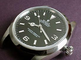 Explorer, medium close dial