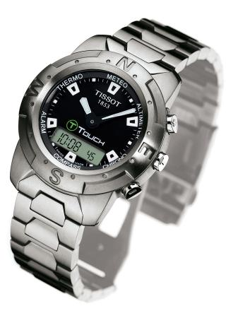 Tissot T Touch. Tissot#39;s T-Touch watch!