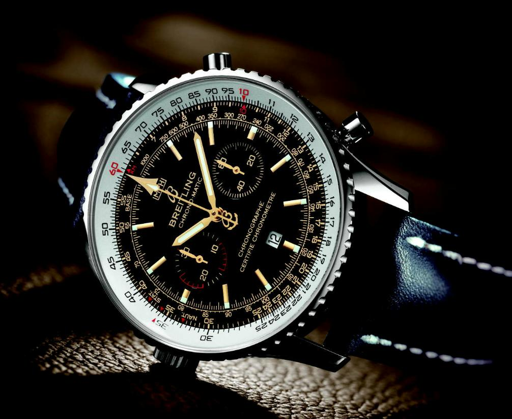The avenger collection from breitling particularly stands out for its exemplary design and flawless chronograph performance.