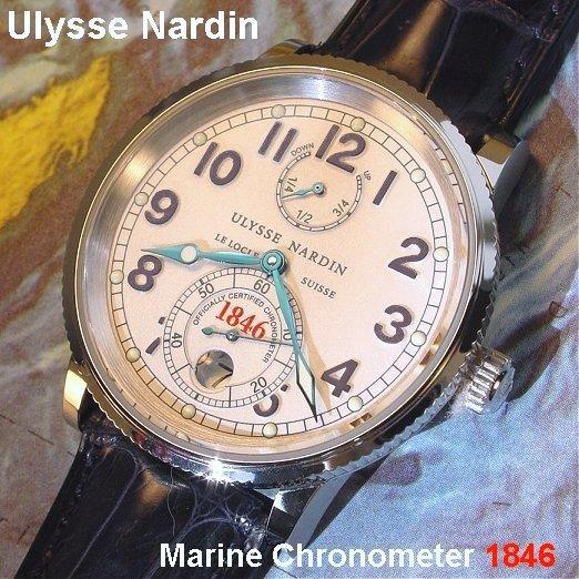 News : Ulysse Nardin Chronomètre Manufacture 1846Title4