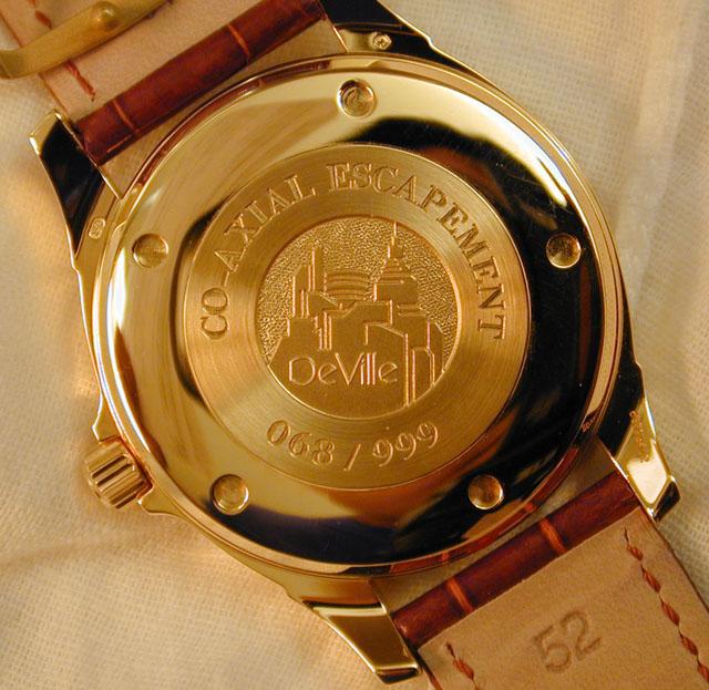 Часы OMEGA: Мужская коллекция OMEGA De Ville Co-Axial