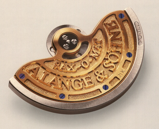 The rotor of the Langematic, the first Lange automatic wristwatch.